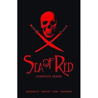 Mar de vermelho Slipcase coleção