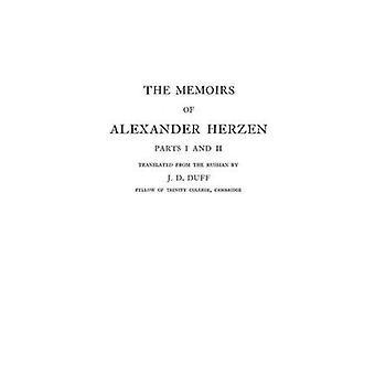 Le memorie di Alexander Herzen, parti I e II da Hertzen & Aleksandr