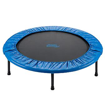 Upper Bounce - 40 Zoll 101cm Mini Fitness Übung Trampolin Rebounder Trampette für Gym, Indoor-Training, Cardio, Weight Loss - faltbar