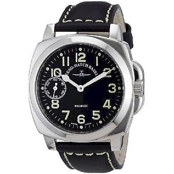 Zeno-watch mens watch square pilot 3558-9-a1