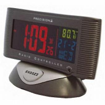 Precision Radio Control Alarm Clock & Temp UK USE ONLY PREC0019