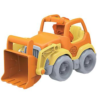 Green Toys Scooper Construction Truck with Figure BPA Free Eco Friendly