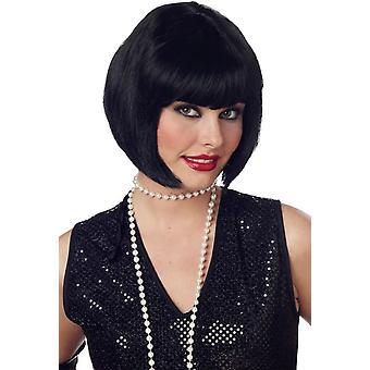 Flapper czarny perukę dla kobiet - 17580