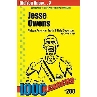 Jesse Owens by Carole Marsh - 9780635026774 Book