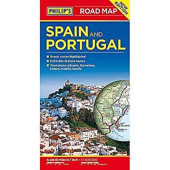 Hiszpania i Portugalia Mapa drogowa Filipa
