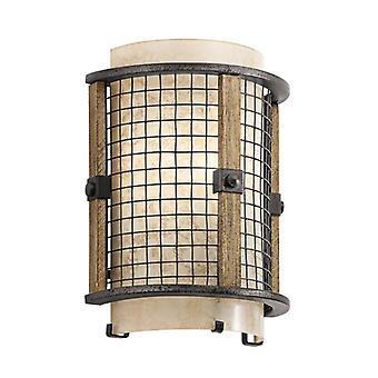 Ahrendale 1lt Wall Light