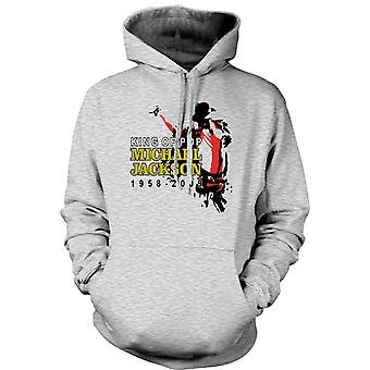 Womens Hoodie - Michael Jackson King Of Pop - New
