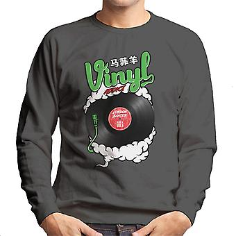 London Banter Vinyl Addict Men's Sweatshirt
