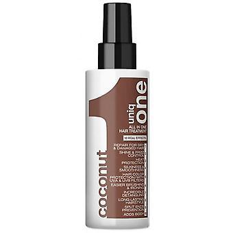 Uniq One Hair Treatment All In One Spray Cconut - Soin Capillaire Tout En Un Noix De Coco 150ml