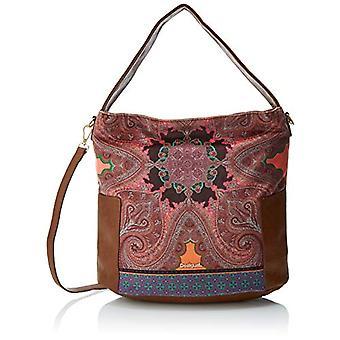 Desigual Bols_brunella Yakarta - Orange Woman Shoulder Bags (Naranja) 19x34x38 cm (B x H T)