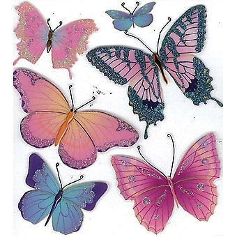 Jolee's Boutique Dimensional Stickers Butterflies E5020201