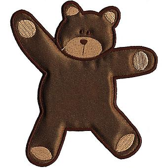 Wrights vooral Baby opstrijkbare Appliques Brown Bear 4
