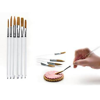 Ibili Game 6 Confectionery Detail Brushes (Home , Kitchen , Bakery , Tools , Brushes)