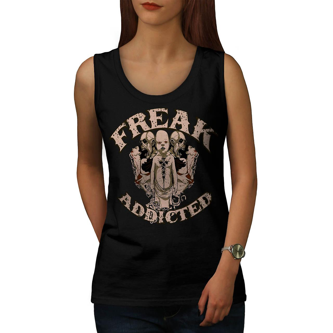 Freak sterben Addict Baby Ghost Kids Frauen Tank-Top schwarz | Wellcoda