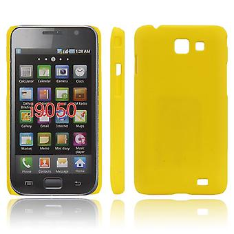 Ultra-thin cover for Samsung Galaxy S Advance (yellow)