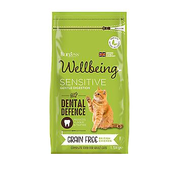 Burgess Wellbeing Grain Free Sensitive Chicken 1.5kg