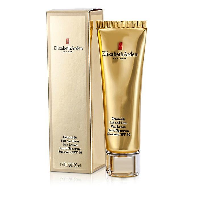 Elizabeth Arden Ceramide Lift en stevige dag Lotion breed Spectrum zonnebrand SPF 30 50ml / 1.7 oz