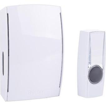 Wireless door chime Complete set backlit, with nameplate Byron BY511E