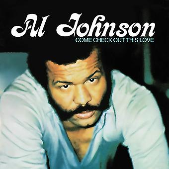 Al Johnson - kommen Check Out This Love [CD] USA import