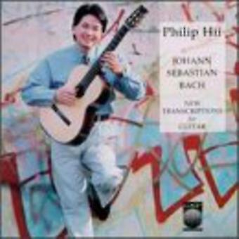 Philip Hii - Bach: New Transcriptions for Guitar [CD] USA import