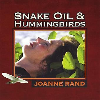 Joanne Rand - slange olje & Hummingbirds [DVD] USA import