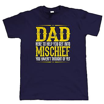 Papa Unfug Mens lustige T Shirt