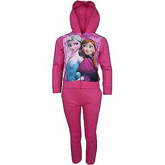 Girls Disney Frozen Elsa & Anna Tracksuit