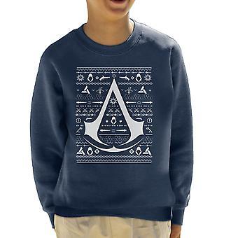 Christmas Strik Assassins Creed børne Sweatshirt