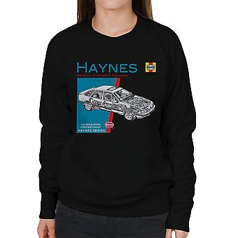 Haynes Owners Workshop Manual 0904 Ford Sierra V6 4X4 Women's Sweatshirt