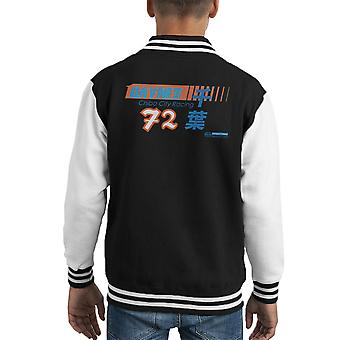 Haynes merk Chiba City Racing 72 Kid's Varsity Jacket