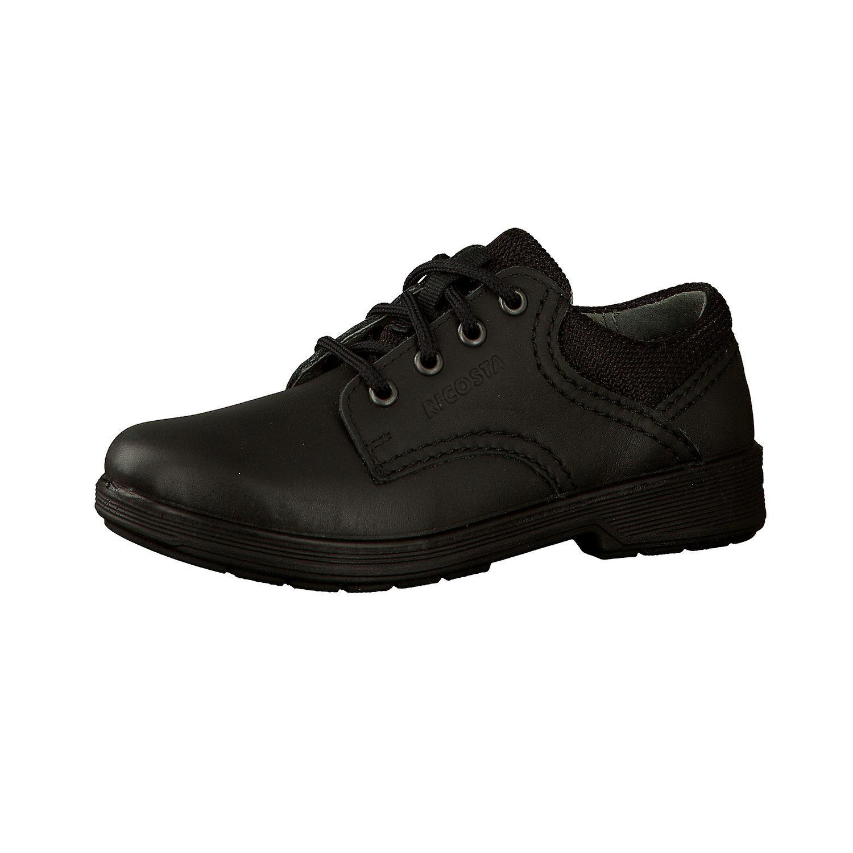 École de Harry garçons RICOSTA chaussures noire raccord grande ou moyenne