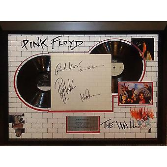 Pink Floyd - The Wall - Signed Album