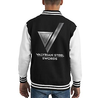 Game Of Thrones bekam Valyrian Stahl Kid Varsity Jacket
