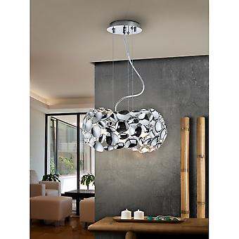 Schuller Narisa Lamp, 3L, 32,Chrome