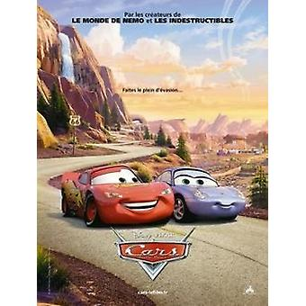 Disney Pixar Cars - French Movie Poster Poster Print