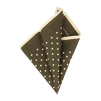Baldessarini handkerchief Hanky Cavalier cloth polka dot Green