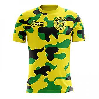 2018-2019 Jamaica Home Concept voetbalshirt