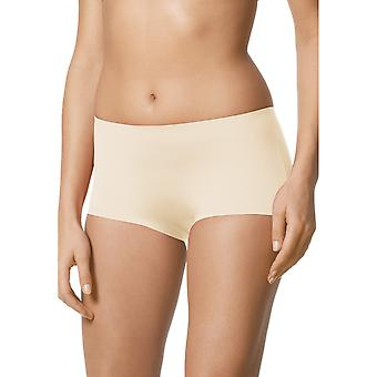 Mey 79003-5 Women's Illusion Champagne Solid Colour Knicker Shorties Boyshort