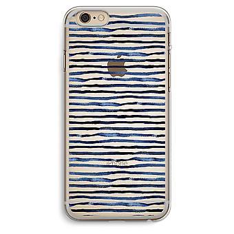 iPhone 6 Plus / 6S Plus transparante geval verrassend (Soft) - lijnen