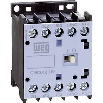 Contactor 1 pc(s) CWC09-01-30D24 WEG 3 makers 4 kW