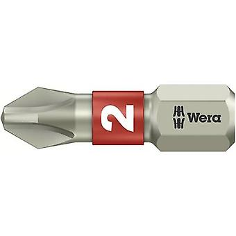 Philips bit PH 2 Wera 3851/1 TS PH 2 X 25 MM Stainless steel
