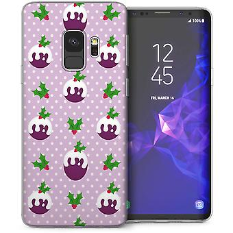 Samsung Galaxy S9 Plumpudding TPU Gel Case – lila