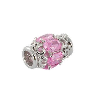 Shipton and Co Ladies Shipton And Co Silver And Cubic Zirconia Charm DQA241CZ4