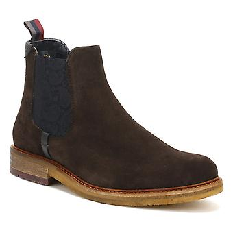 Ted Baker Mens Brown Suede Bronzo Ankle Boots