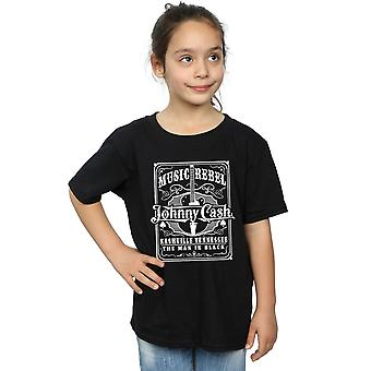 Johnny Cash Girls Music Rebel T-Shirt
