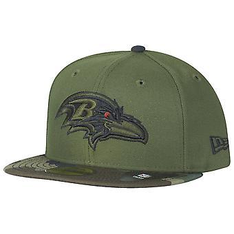 New Era 59Fifty Cap - Baltimore Ravens wood camo