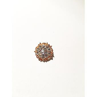 Antique gold and silver brooch
