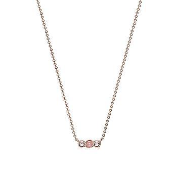 En acier inoxydable de la femme ESPRIT chaîne collier Rosé JW52909 ESNL03062C420