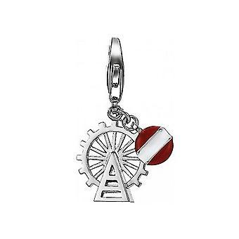 ESPRIT charms pendant silver of big wheel ESCH91215A000