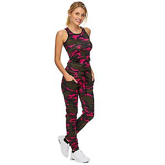 Ladies Sports Suit Training Sports Festival blogger Summer Army Yoga Camouflage